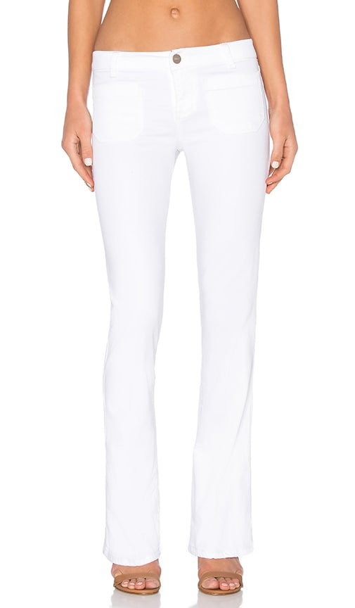 Sanctuary Marianne Flare Pant in White