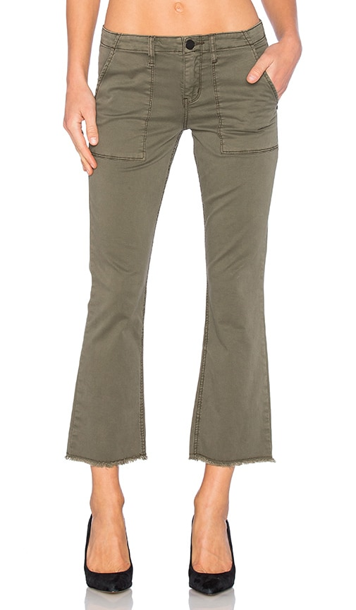 Sanctuary Peace Crop Pant in Fatigue