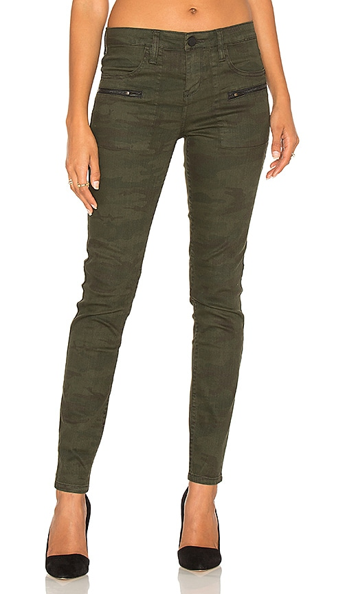 Sanctuary Ace Utility Skinny Jean in Army