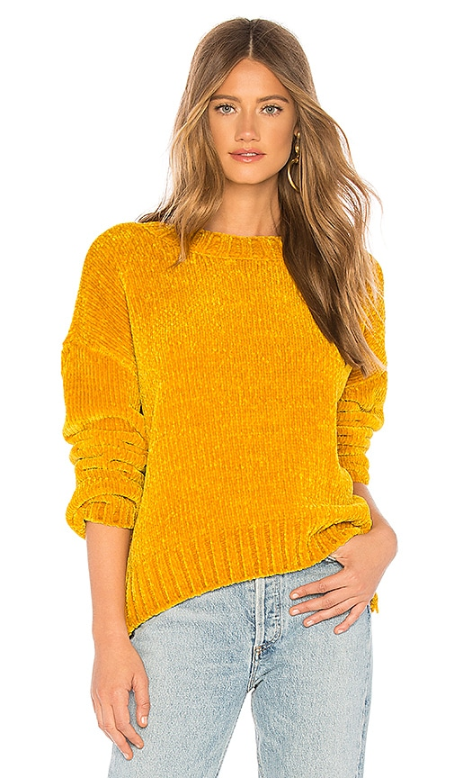 big sale c1de3 05940 Sanctuary Chenille Pullover in Harvest Gold | REVOLVE