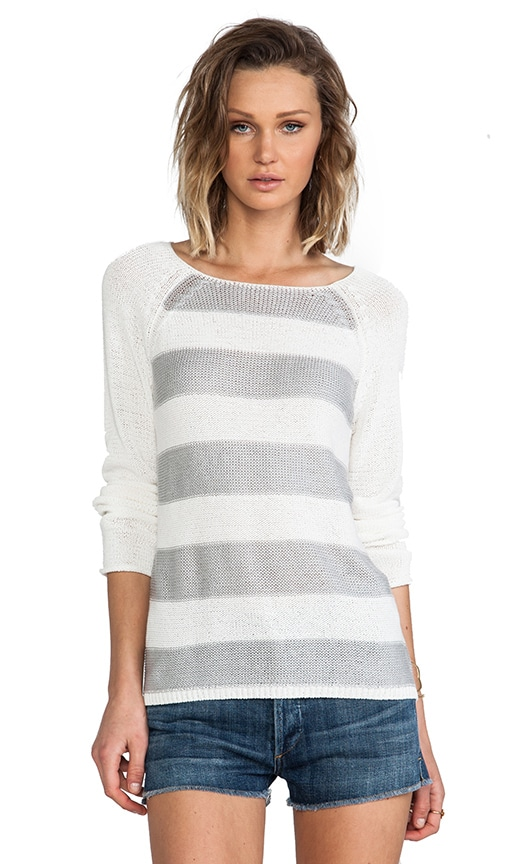 Baseball Stripe Sweater