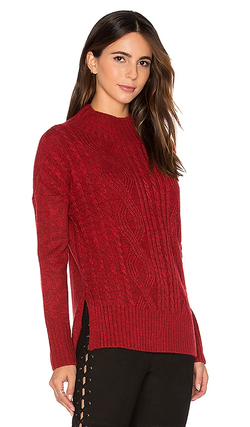 Sanctuary The Wonderer Sweater in Red