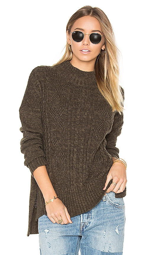 Sanctuary The Wonderer Sweater in Army