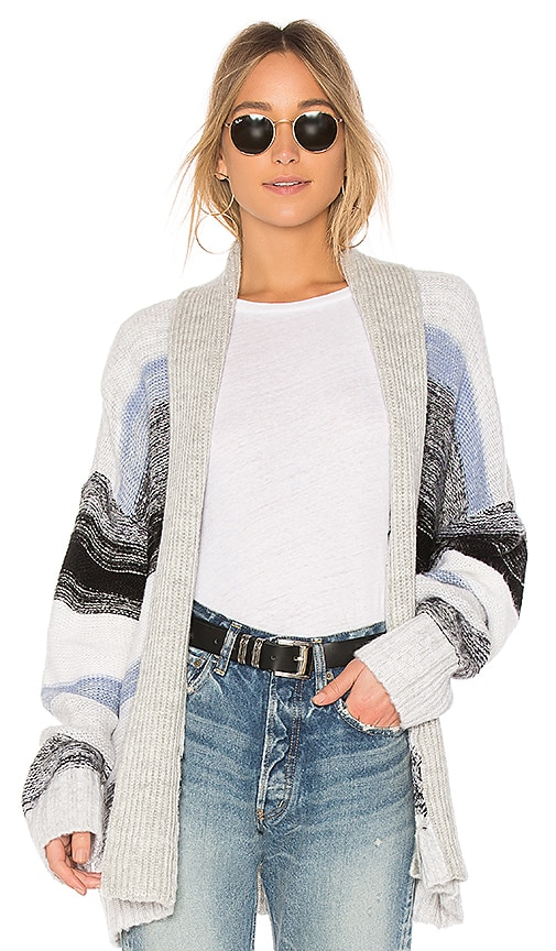 Sanctuary Sigrid Belted Cardigan in Grey