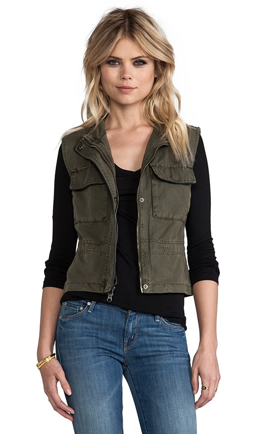 Crop Travel Vest