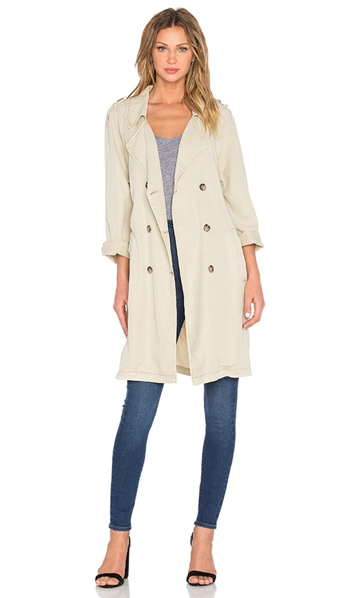 Sanctuary Jane in Paris Trench in Beige