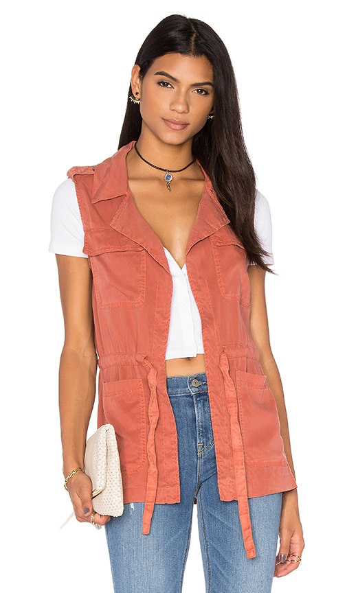 Sanctuary Surplus Vest in Copper
