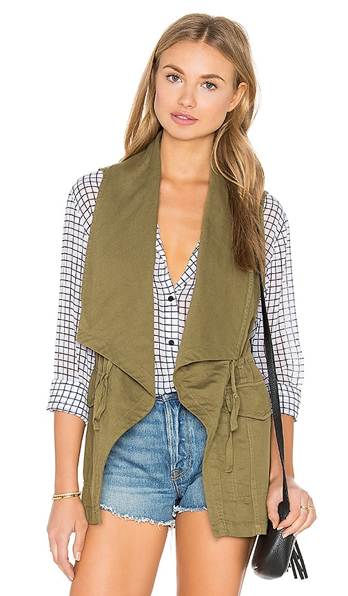 Sanctuary Summer Sunset Vest in Army