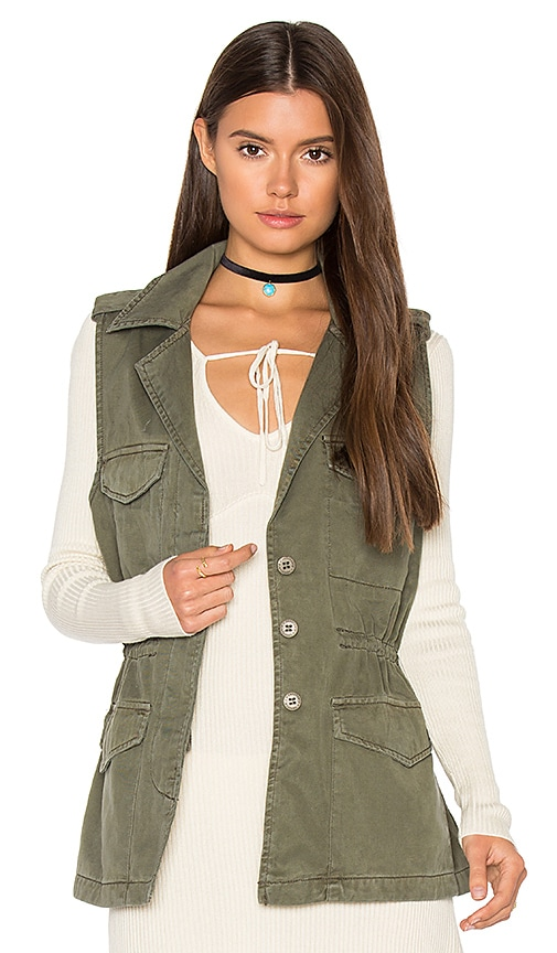 Sanctuary Gigi Vest in Army