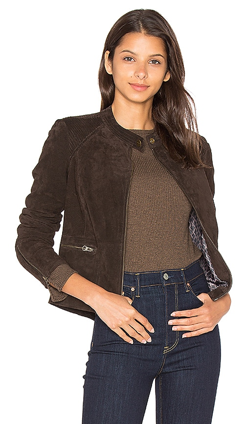 Sanctuary Jacqui Moto Jacket in Brown