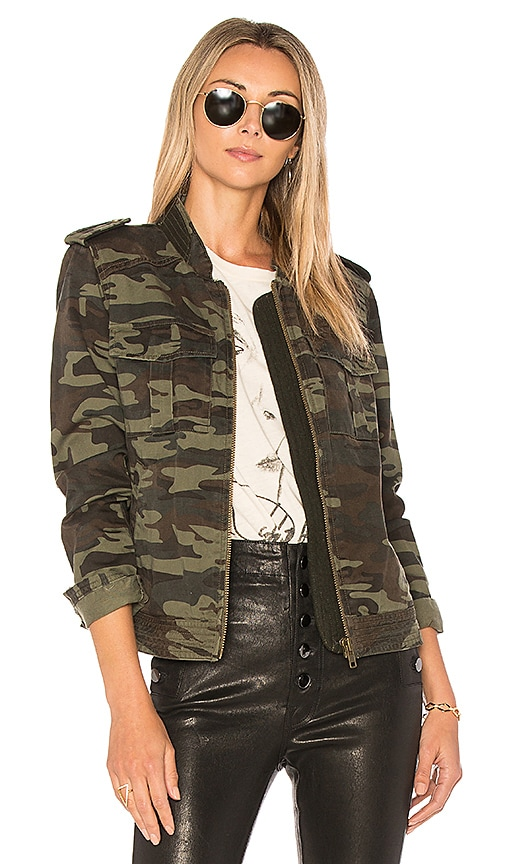 Sanctuary War Is Over Jacket in Army