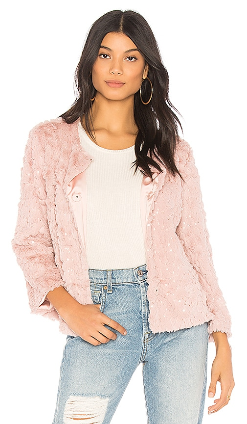 Sanctuary Chubby Jacket in Pink