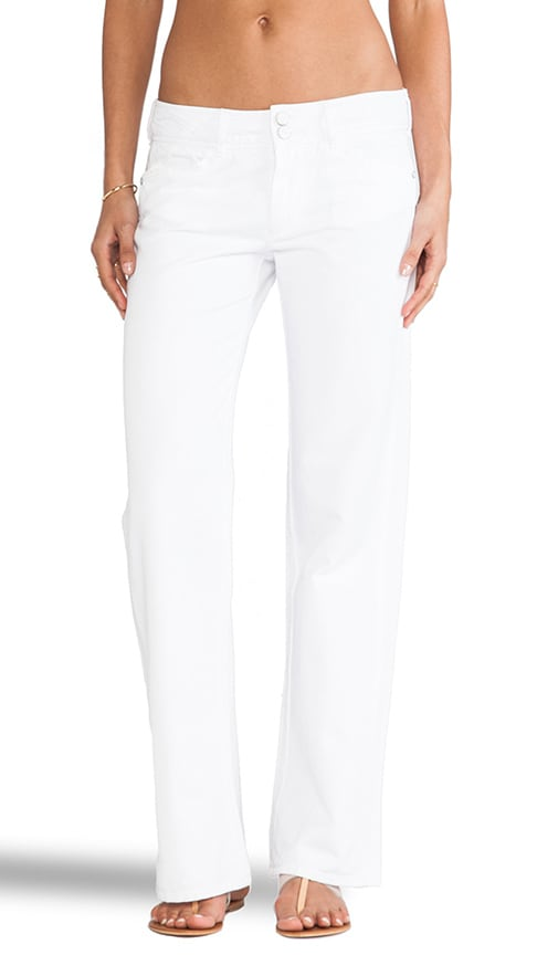 Easy Wide Leg City Chino Pants