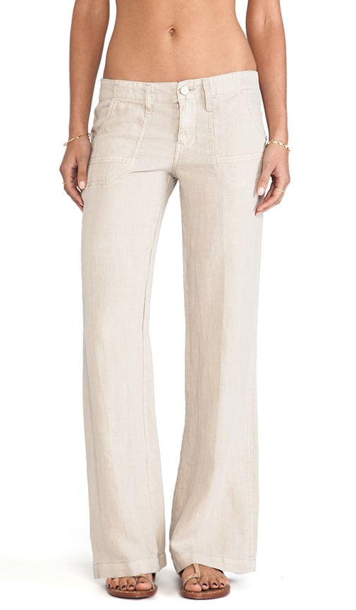 Linen Breezeway Wide Leg Pants