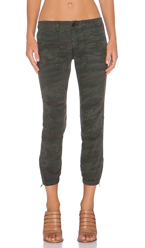 Sanctuary Peace Trooper Pant in Olive