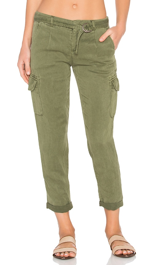 Sanctuary City Cargo Pant in Green