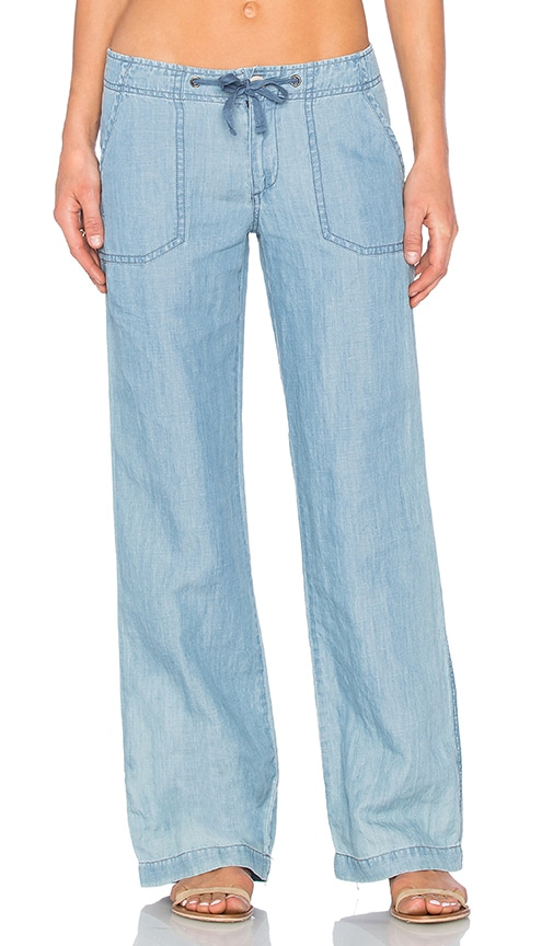 Sanctuary Newport Pant in Blue