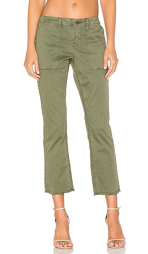 Sanctuary Peace Crop Pants in Olive
