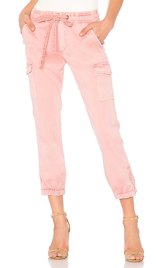 Sanctuary Pull On Trooper Pant in Pink