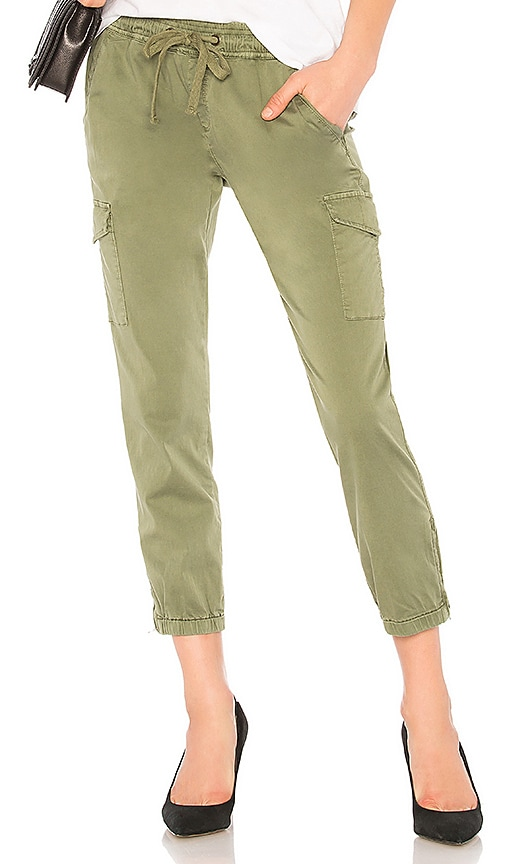 Sanctuary Pull On Trooper Pant in Army