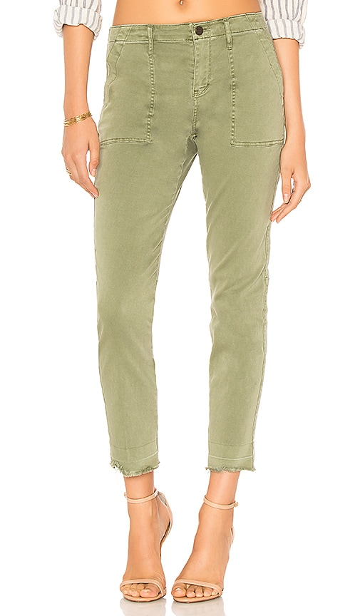 Sanctuary Peace Release Hem Pant in Army