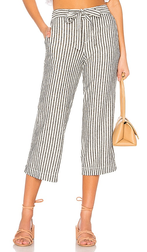 Sasha Stripe Crop Pant by Sanctuary