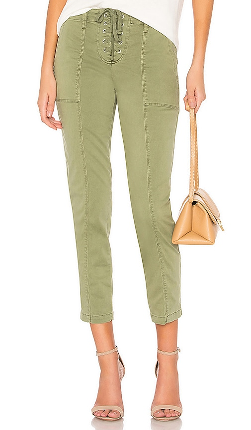 Sanctuary Lace Me Peace Pant in Army
