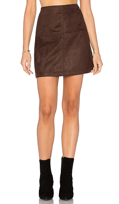 Sanctuary Easy Mod Skirt in Brown
