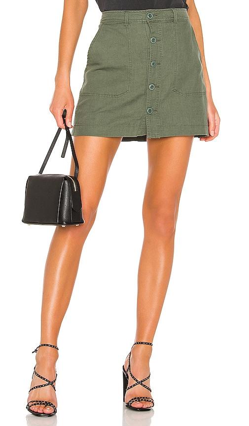 Venture Surplus Button Front Skirt