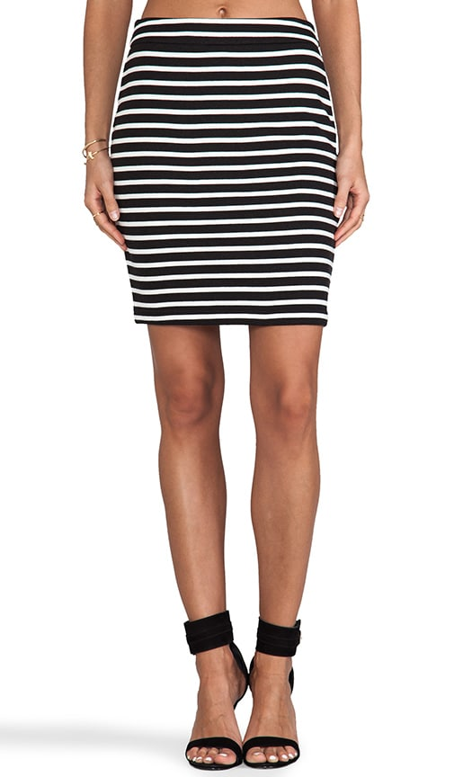 Sexy Stripe Mini Skirt