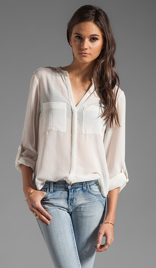 Delicate Cafe Blouse