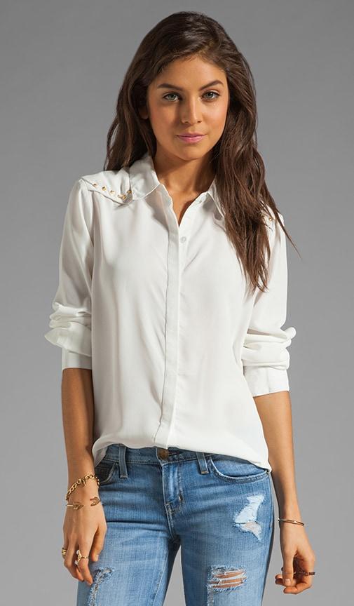 Dainty Studded Western Shirt