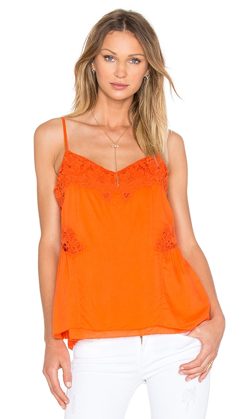 Sanctuary Ivy Tank in Orange