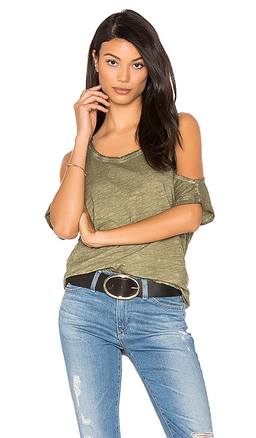 Sanctuary Lou Tee in Green