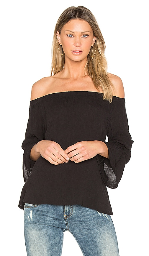 Sanctuary Charlotte Top in Black