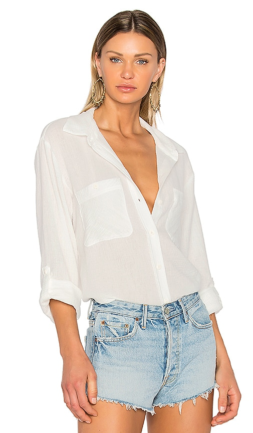 Sanctuary The Steady Boyfriend Shirt in White