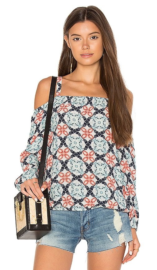 Sanctuary Tori Top in Blue