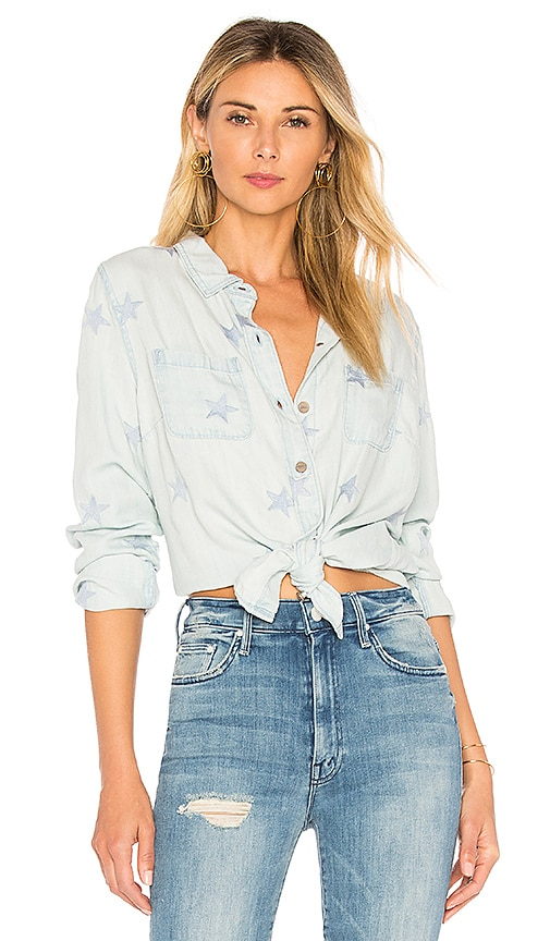 FROM STARS TO EARTH EMBROIDERED SHIRT