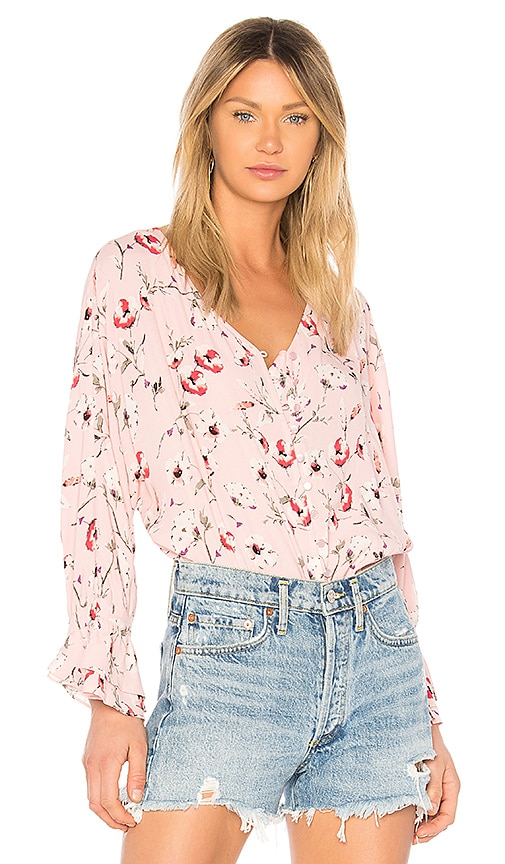 Sanctuary Posey Blouse in Pink