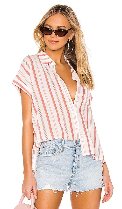 Mod Short Sleeve Boyfriend Shirt