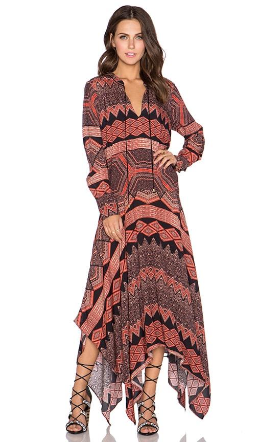 SAM&LAVI Christel Maxi Dress in Tarifa