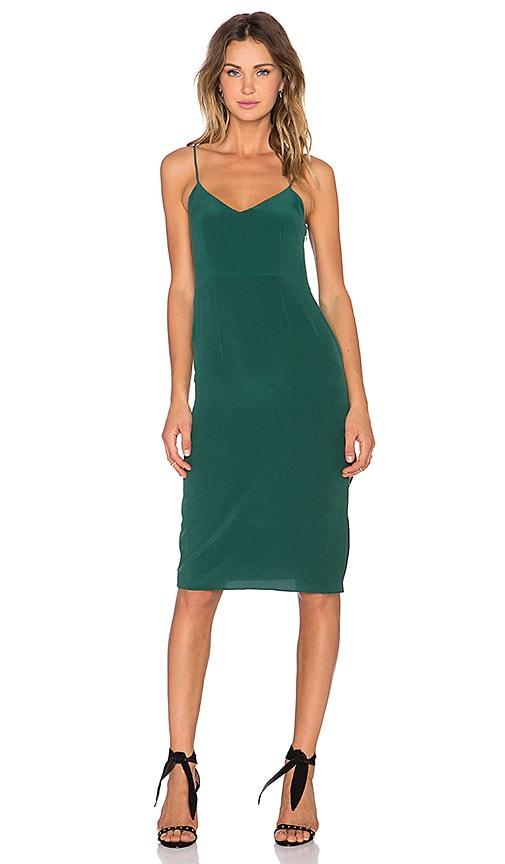 SAM&LAVI Selena Dress in Emerald