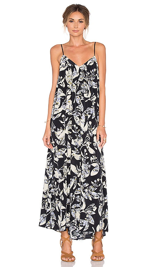 SAM&LAVI Layla Maxi Dress in Navy