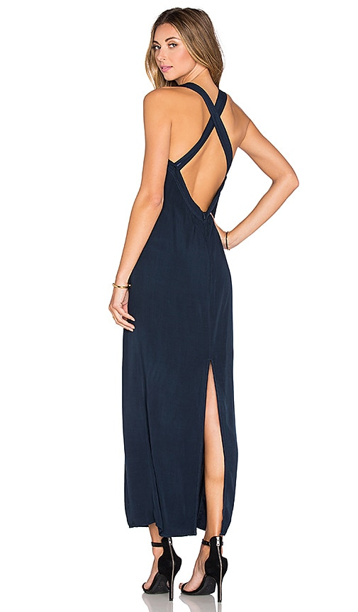 LAVI by SAM&LAVI Madisyn Maxi Dress in Navy
