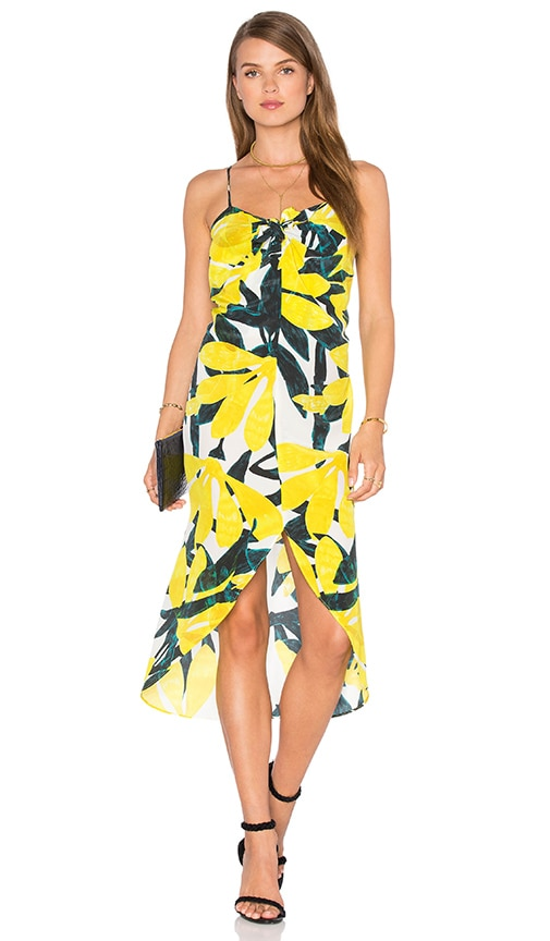 SAM&LAVI Bella Dress in Yellow