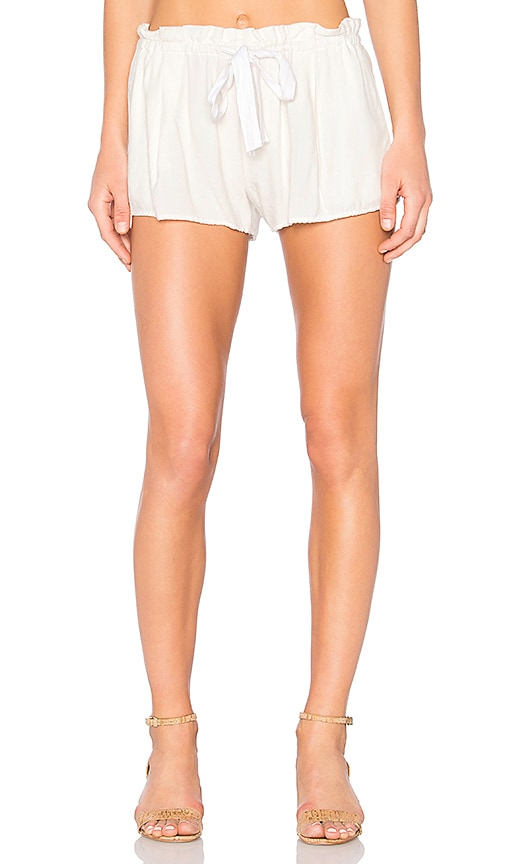 SAM&LAVI Paige Short in Ivory