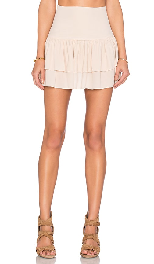 SAM&LAVI Marina Skirt in Beige
