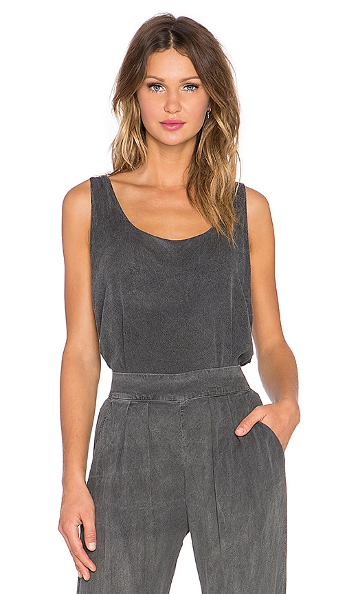 LAVI by SAM&LAVI Sasha Top in Charcoal