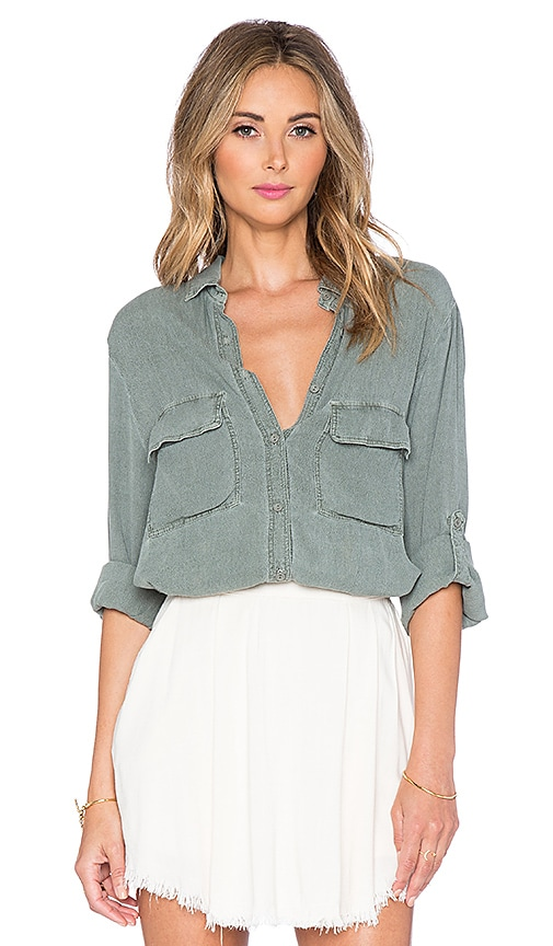 LAVI by SAM&LAVI Bonnie Top in Olive