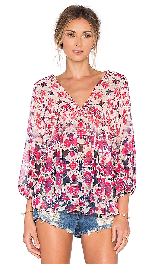SAM&LAVI Angelina Top in Pink